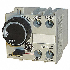 1.00 sec. to 30.00 sec. On Delay IEC Timer Module