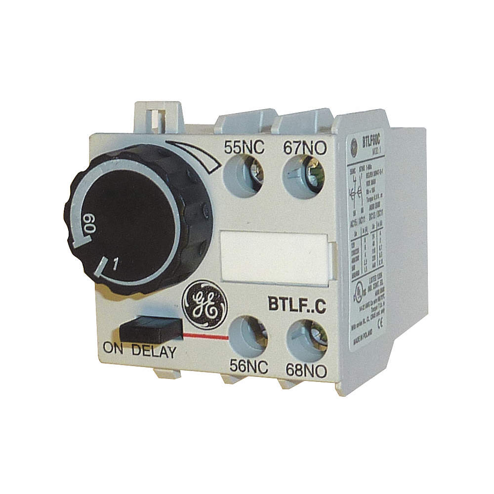 1.00 sec. to 60.00 sec. On Delay IEC Timer Module Ge Cr Xtao Schematic Diagram on