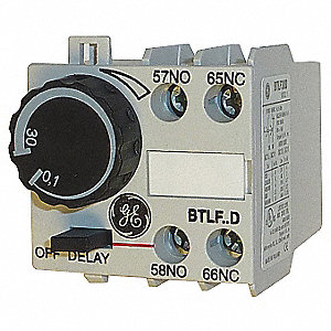1.00 sec. to 30.00 sec. Off Delay IEC Timer Module