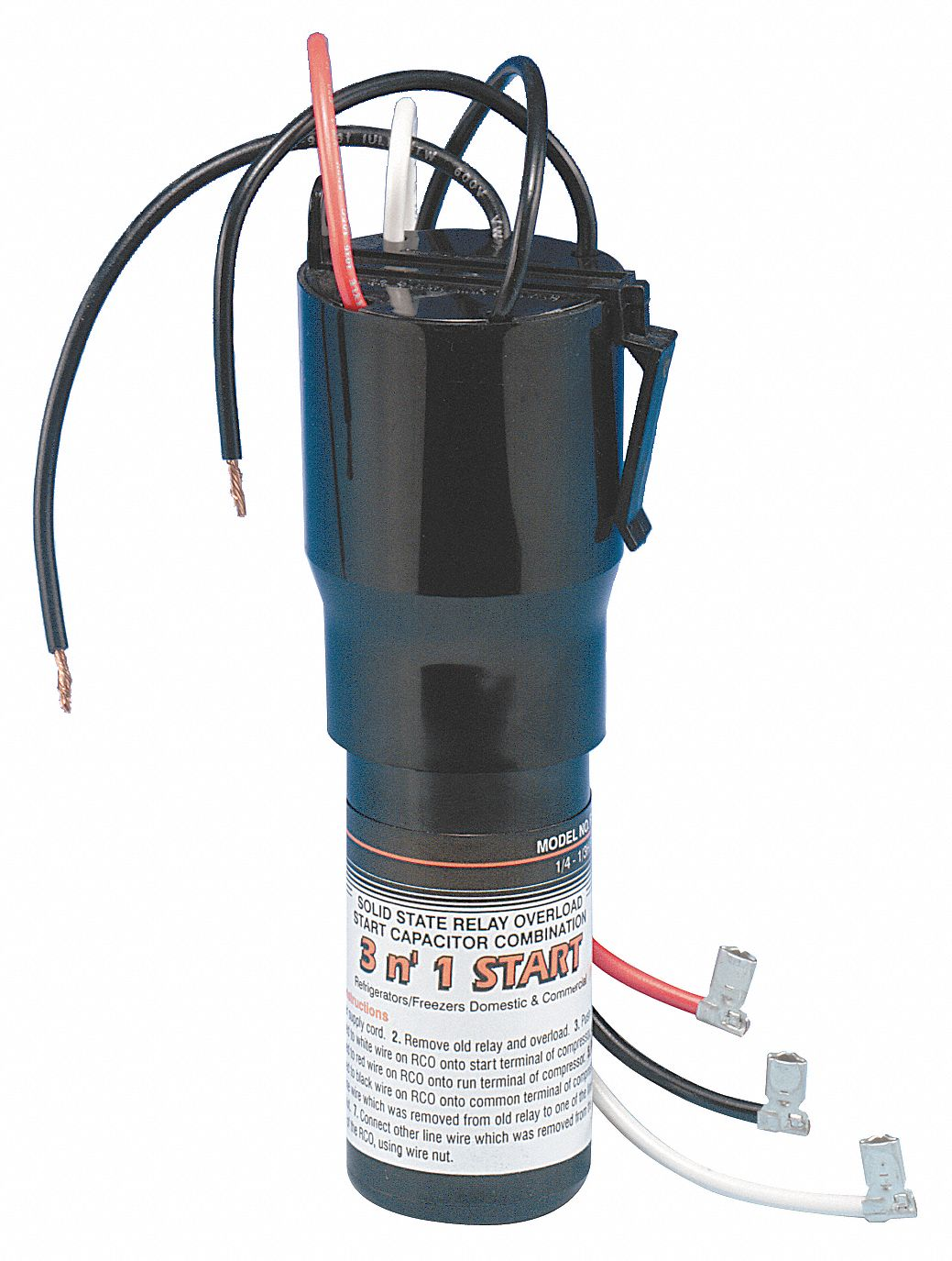 Supco Relay Overload And Hard Start Capacitor 4lwx4 Rco210 Grainger Common Terminal In