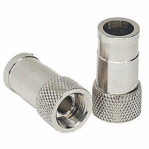 Coaxial Connector,F-Type,RG6,PK4