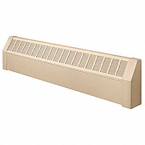 Assembled Baseboard Enclosure,36 In. L