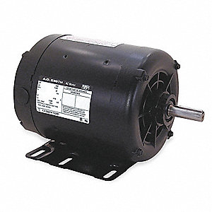 2 HP Belt Drive Motor, 1725 Nameplate RPM, 208-230/460 Voltage, Frame 145T