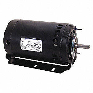 1 HP Belt Drive Motor, 3-Phase, 3450 Nameplate RPM, 200-230/460 Voltage, Frame 56H