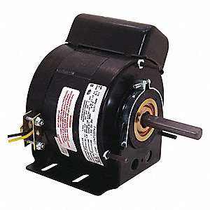 1/8 HP Unit Heater Motor,Permanent Split Capacitor,1075 Nameplate RPM,115 Voltage, Frame 42Y