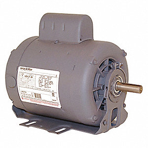 1 HP Belt Drive Motor, Capacitor-Start, 3450 Nameplate RPM, 115/208-230 Voltage, Frame 56