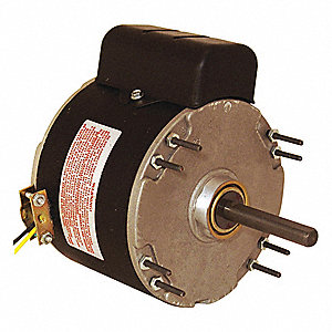1/6 HP Unit Heater Motor,Permanent Split Capacitor,1075 Nameplate RPM,115 Voltage, Frame 48Y