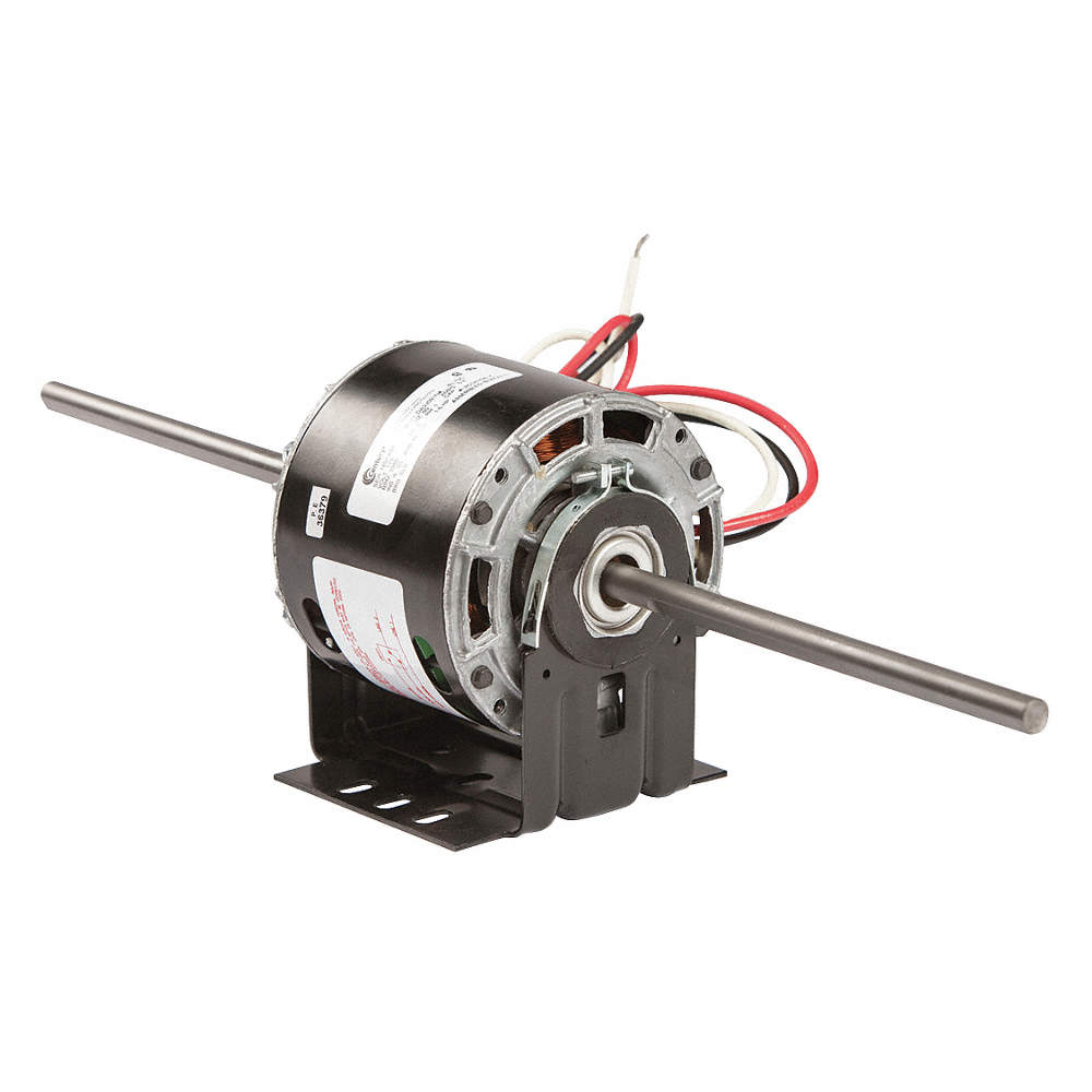 CENTURY 1/6 HP Room Air Conditioner Motor,Shaded Pole,1050 Nameplate ...