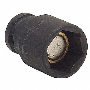 Impact Socket,3/8In Dr,3/4In,6pts