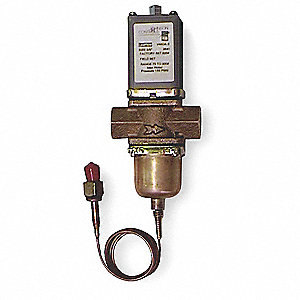 Water Regulating Valve,2 Way,NPT,3/8 in.