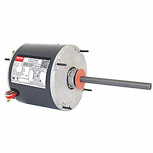 1/3 HP Condenser Fan Motor,Permanent Split Capacitor,1075 Nameplate RPM,208-230 Voltage,Frame 48YZ