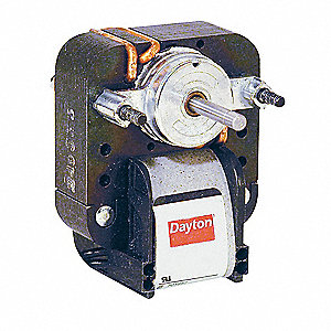 C-Frame Motor,Shaded Pole,1 In. L,Sleeve