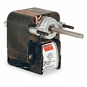 1/250 HP C-Frame Motor, Shaded Pole, 3000 RPM, 115 Voltage,Frame Non-Standard