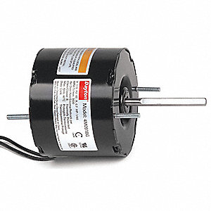 1/65 HP, HVAC Motor, Shaded Pole, 3000 Nameplate RPM, 115 Voltage, Frame 3.3