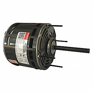 1/4 HP Direct Drive Blower Motor, Permanent Split Capacitor, 1075 Nameplate RPM, 208-230 Voltage