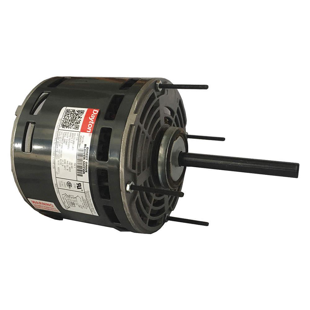 1/4 HP Direct Drive Blower Motor, Permanent Split Capacitor, 1075 Nameplate Dayton Electric Motors Wiring Diagram Capacitor on