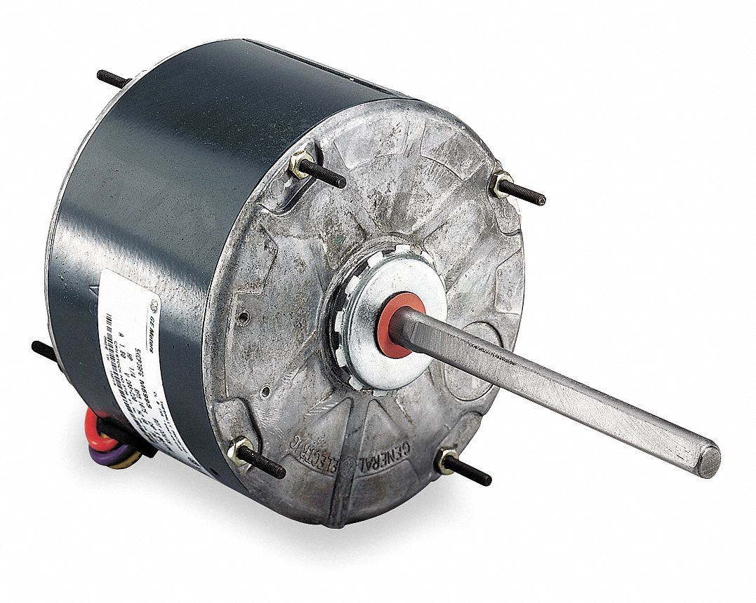 GENTEQ 1/3 HP Condenser Fan Motor,Permanent Split Capacitor