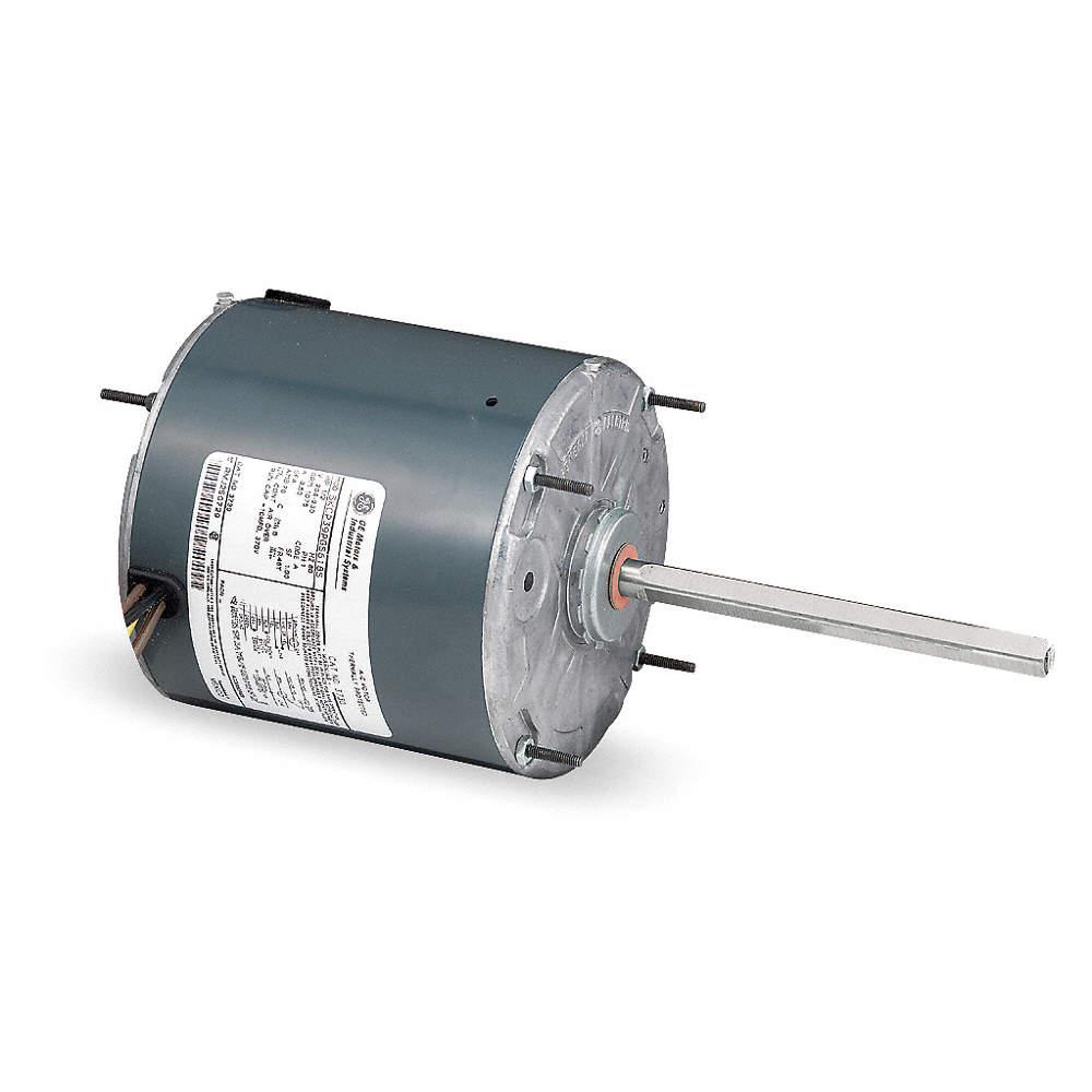 GE 1/2 HP Condenser Fan Motor,1075 Nameplate RPM,208-230