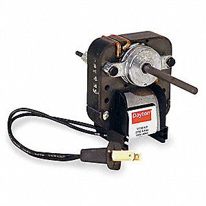 C-Frame Motor,Shaded Pole,1-9/16 In. L