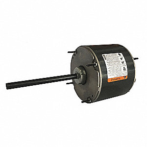 1/6 HP Condenser Fan Motor,Permanent Split Capacitor,1075 Nameplate RPM,208-230 Voltage,Frame 48YZ