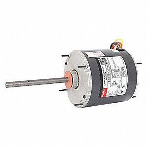 Dayton Condenser Fan Motor 1 3 Hp 825 Rpm 60 Hz 4m262