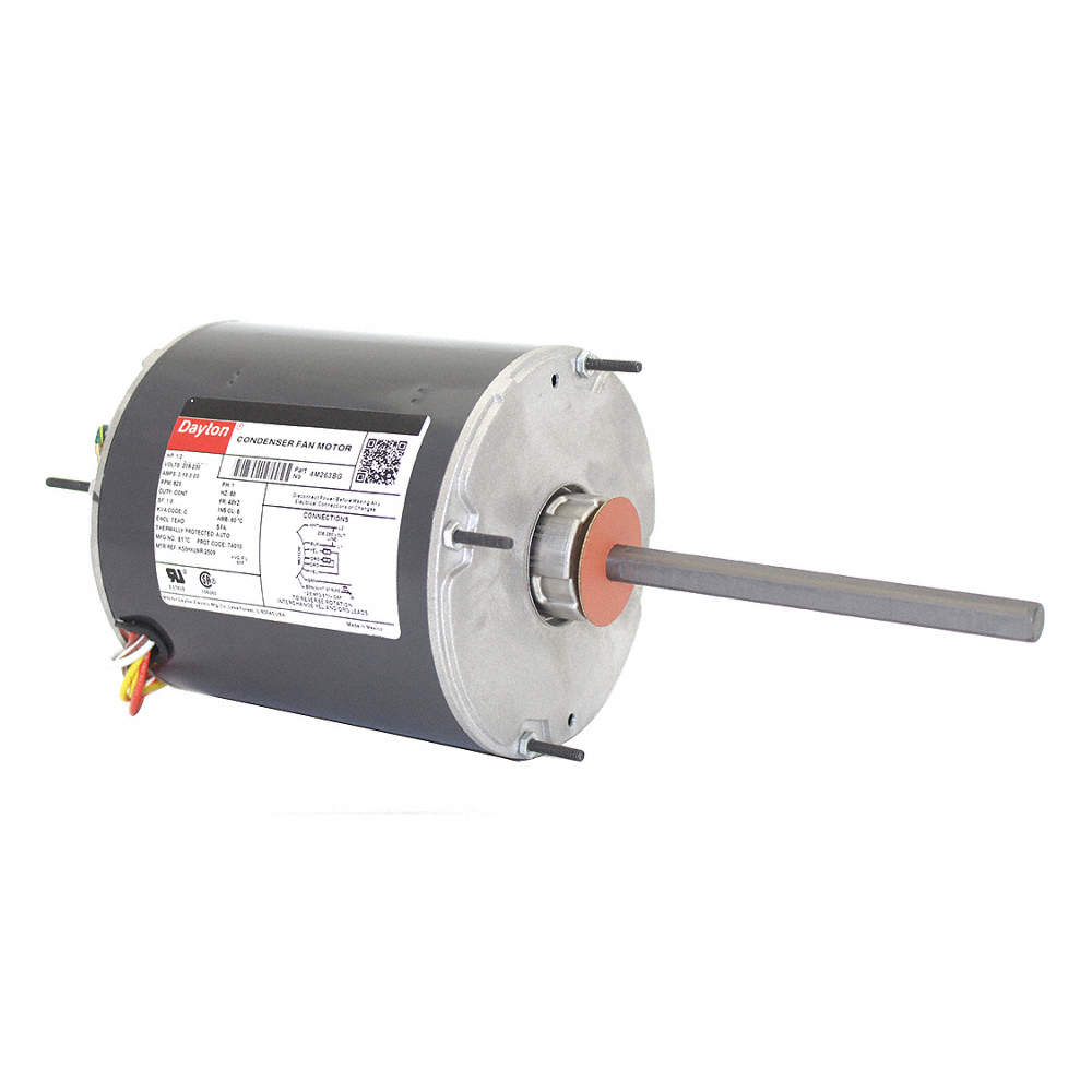 [DIAGRAM_5NL]  5915A59 DAYTON 1/2 HP Condenser Fan Motor,Permanent Split Capacitor,825 ...  | Wiring Library | Outside Ac Fan Motor Wiring N859bs |  | Wiring Library
