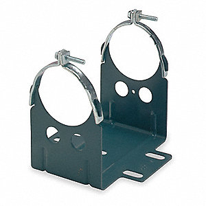 Resilient Ring Mounting Base,For NEMA Frame  ,5 Length (In.),  Width (In.)
