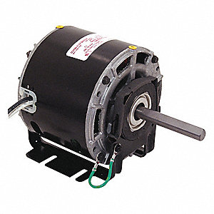 1/10 HP Direct Drive Blower Motor, Shaded Pole, 1550 Nameplate RPM, 115 Voltage, Frame 42Y