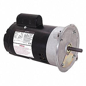 Century 1 3 hp oil burner motor capacitor start 3450 for Oil furnace motor cost