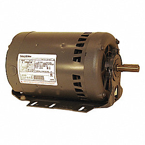 2 HP Belt Drive Motor, 3-Phase, 3450 Nameplate RPM, 200-230/460 Voltage, Frame 56H