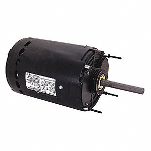 1 HP Condenser Fan Motor,Permanent Split Capacitor,1075 Nameplate RPM,200-230/460 Voltage,Frame 56Y