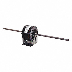 1/15 HP Room Air Conditioner Motor,Permanent Split Capacitor,1075 Nameplate RPM,115 Voltage,Frame 42