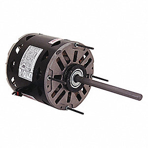 1/2 HP Direct Drive Blower Motor, Permanent Split Capacitor, 1625 Nameplate RPM, 115 Voltage