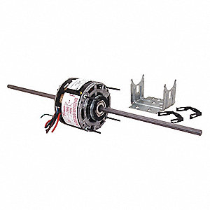 CENTURY 1/4 HP Room Air Conditioner Motor,Permanent Split