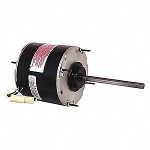 1/2 HP Condenser Fan Motor,Permanent Split Capacitor,1075 Nameplate RPM,208-230 Voltage,Frame 48Y