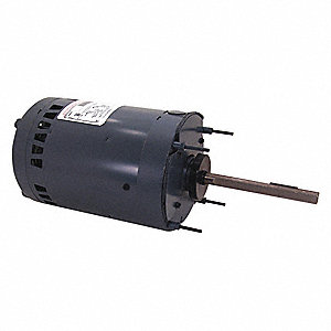 Condenser Fan Motor,1 HP,1075 rpm,60 Hz