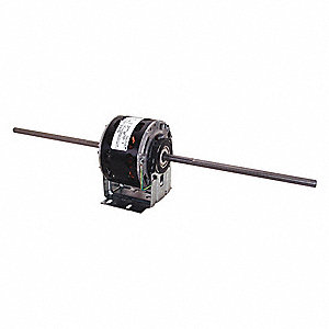 1/10, 1/15, 1/25, 1/35 HP Room Air Conditioner Motor, Permanent Split Capacitor, 1075 Nameplate RPM,