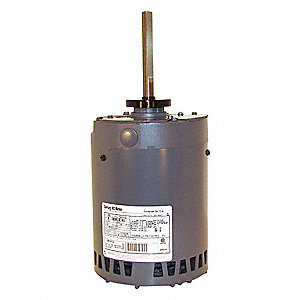 1 HP Condenser Fan Motor,3-Phase,850 Nameplate RPM,200-230/460 Voltage,Frame 56Y