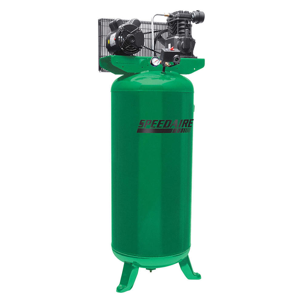 1 Phase - Electrical Vertical Tank Mounted 3.00HP - Air Compressor on