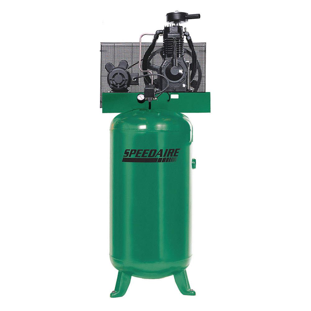 SPEEDAIRE 3 Phase - Electrical Vertical Tank Mounted 5.00HP - Air ...