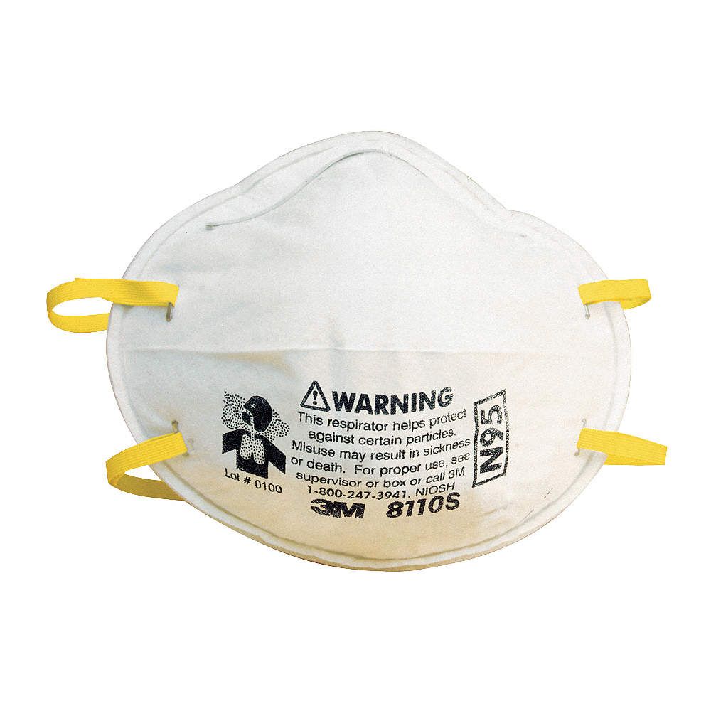 Pk Disposable 20 Respirator N95 Molded S