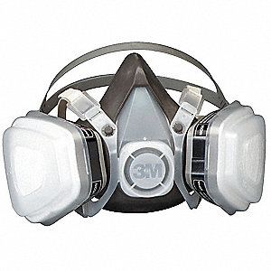 Disposable Half Mask Respirator,Fixed,M