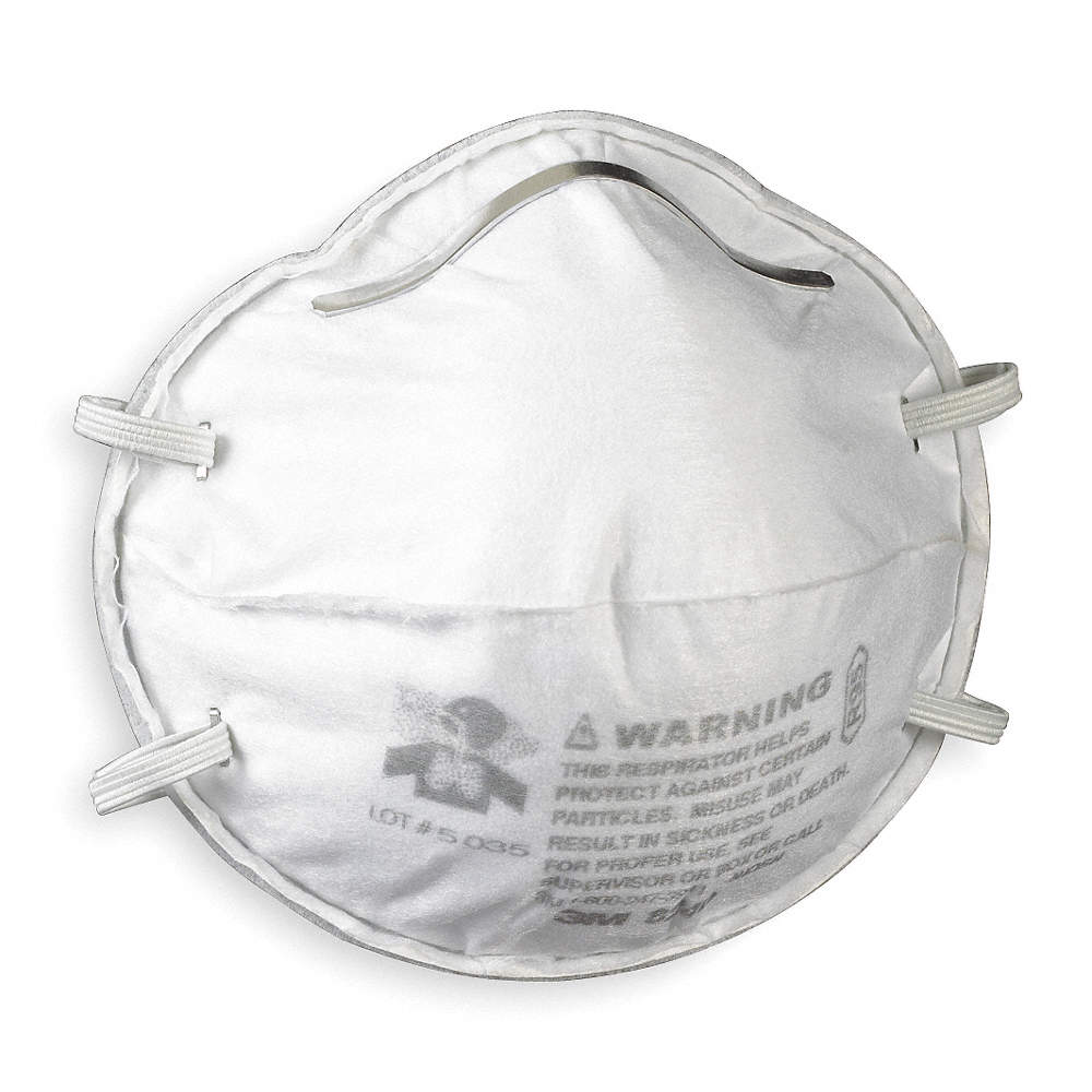 R95 Pk 20 Universal Molded Disposable Respirator