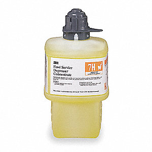 Food Service Degreaser, For Use With 3M  Twist 'n Fill  Chemical Dispenser, 1 EA