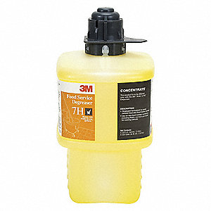 Food Service Degreaser,Size 2L,Yellow