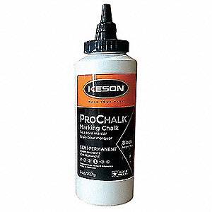 Marking Chalk Refill,Black,8 Oz