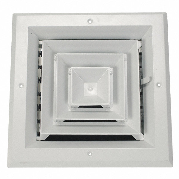 Grainger Approved Diffuser 4 Way Duct Size 8 Quot 4mjj6