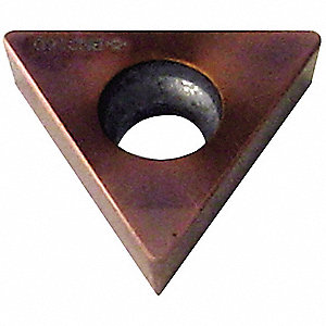 Triangle Turning Insert, TCGA, 21.51, SINGLE-TIP-BNC160