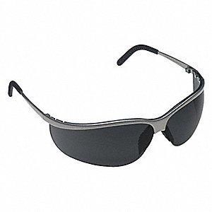Metaliks™ Sport Anti-Fog Safety Glasses, Neutral Gray Lens Color