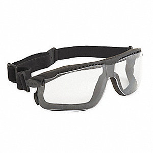 Anti-Fog, Scratch-Resistant Dust Goggle, Clear Lens Color